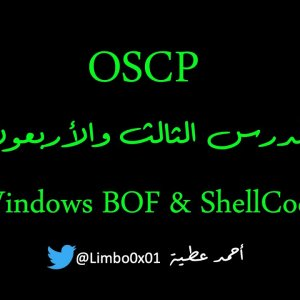 43 Windows Buffer Overflow & ShellCode - OSCP | Offensive Security Certified Professional